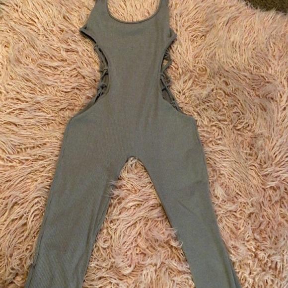 Grey SHEIN jumpsuit!